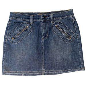 Tommy Hilfiger Denim Blue Jean Mini Skirt  NWOT